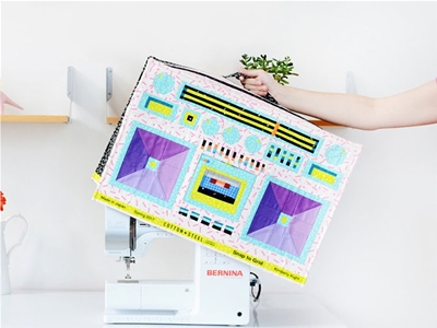 boombox sewing machine cover