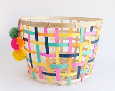 crafty basket diy