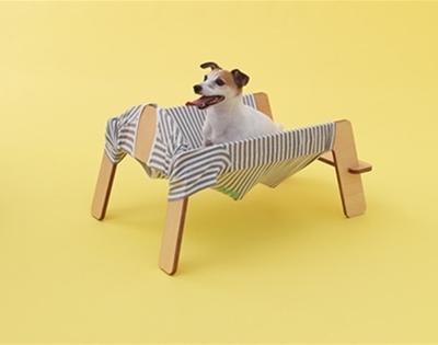 diy t-shirt dog hammock