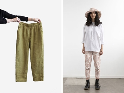 sew up these unisex pants by elbe textiles