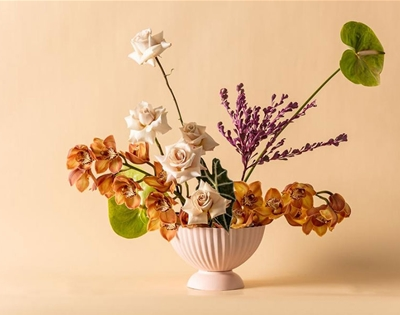 urban eden makes vases for florists
