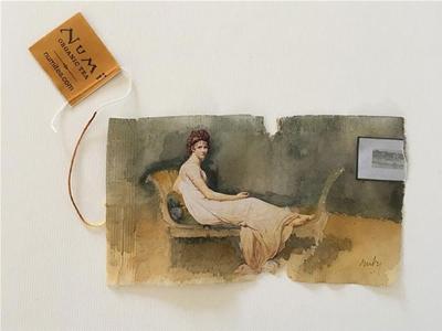 amazing art on teabags