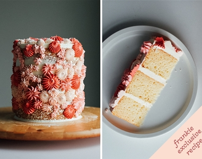 frankie fodder: layer cake how-to