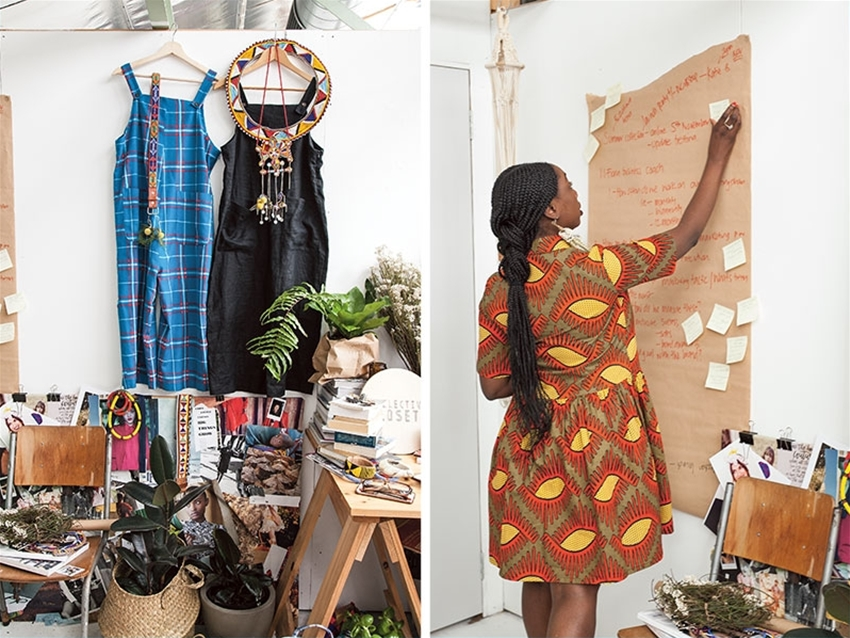 look what we made – collective closets