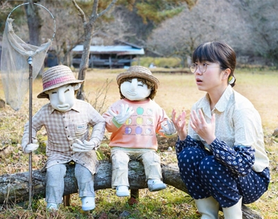 creepy or cool? chika usui photographs japanese scarecrows
