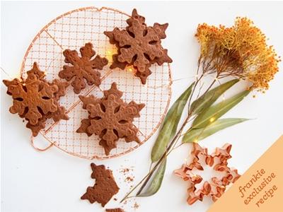 frankie fodder: chocolate spiced shortbread