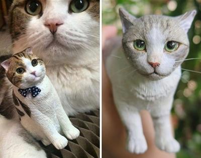 custom cat sculptures