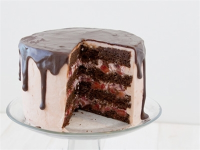 strawberry chocolate cake recipe