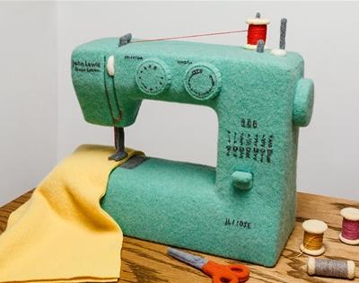 jessica dance's woollen sewing machine