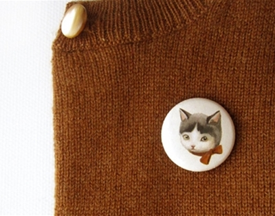 kitten pals pin set