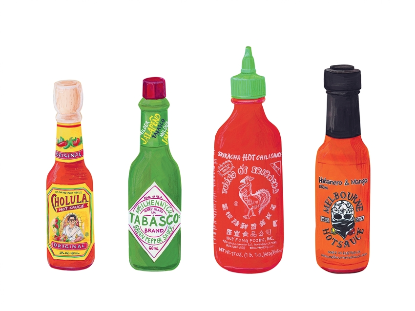 road testing hot sauces