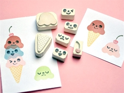 kooky stamps