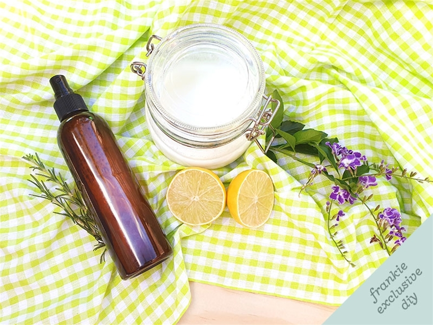 make your own natural cleaning products