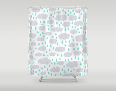 stuff mondays - patterned shower curtains