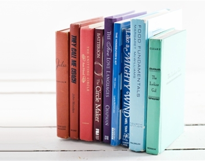invisible bookends diy