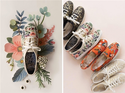 keds x rifle paper co. collaboration