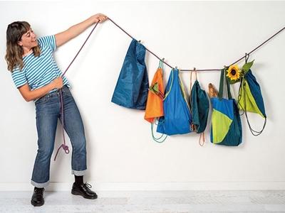 e tū turns festival waste into swish accessories