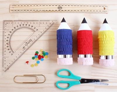 frankie exclusive diy: mini pencil pinata
