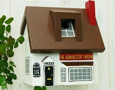 personalised birdhouses