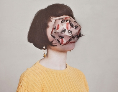 manipulated portraits by alma hasar