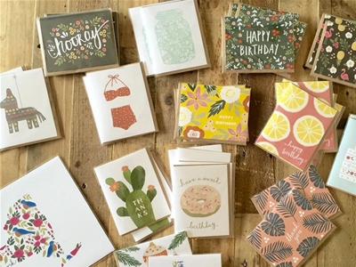 august and oak greeting cards