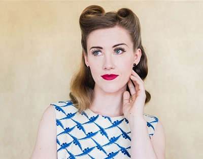 get fancy: victory roll tutorial