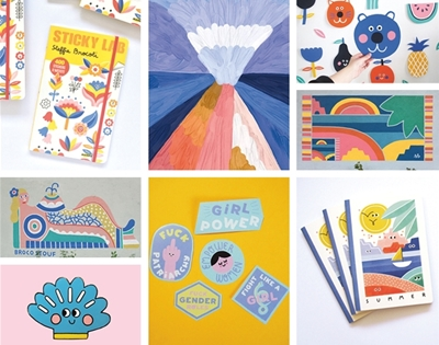 five french illustrators, s'il vous plait
