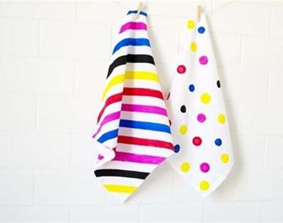 frankie exclusive diy: mismatched linens