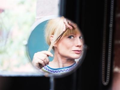 get fancy: trim your own fringe