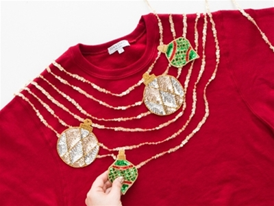 tacky christmas jumper kit