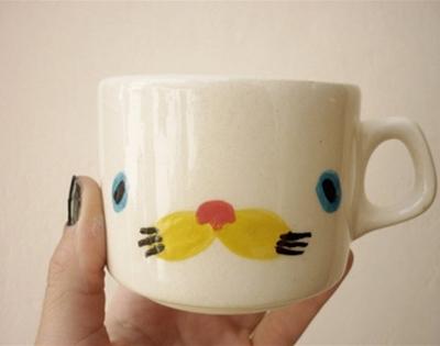 porcelain critter cups