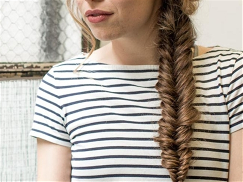 get fancy: a fishbraid how-to