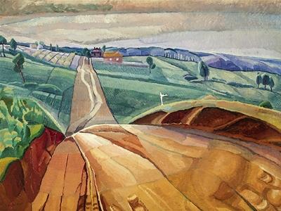 o'keeffe, preston, cossington smith: making modernism exhibition