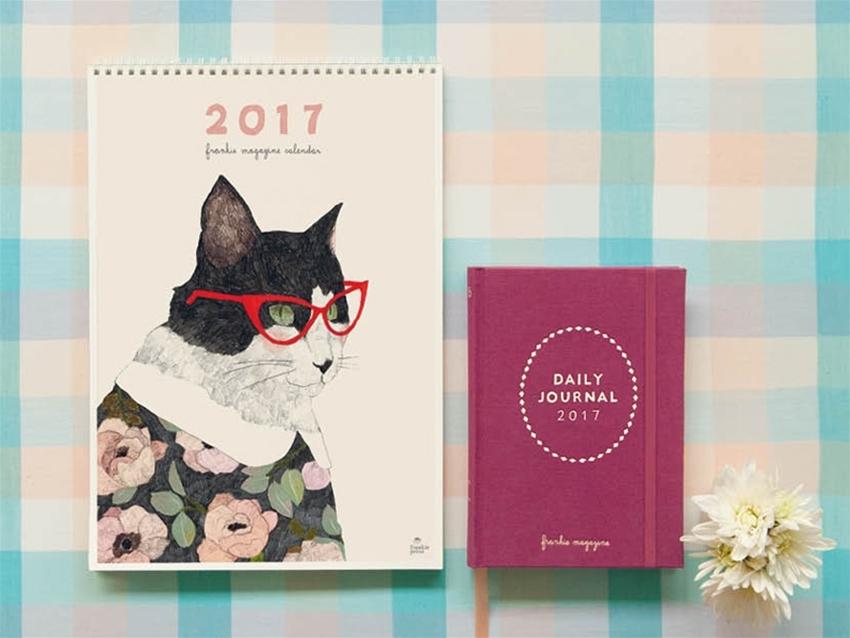 2017 frankie diary and calendar pre-order