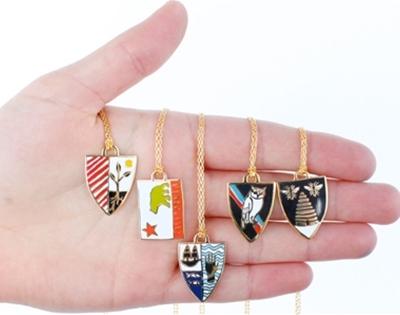 yellow owl workshop pendants