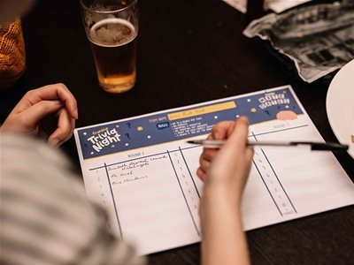 photos from the frankie trivia night