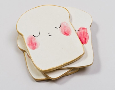 charlotte mei's bread plate