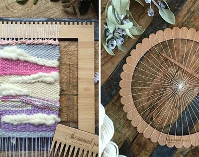 the unusual pear weaving kits