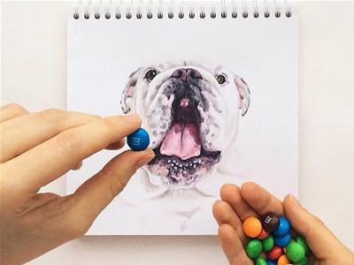 interactive dog illustrations