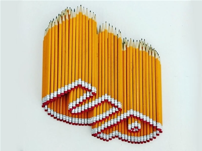 the art of stacking pencils