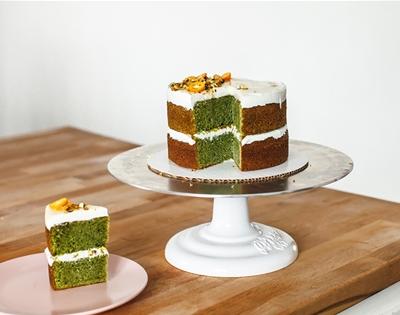 fresh mint olive oil cake