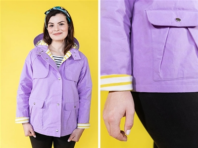 sew your own raincoat