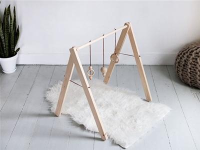 wooden baby gym diy
