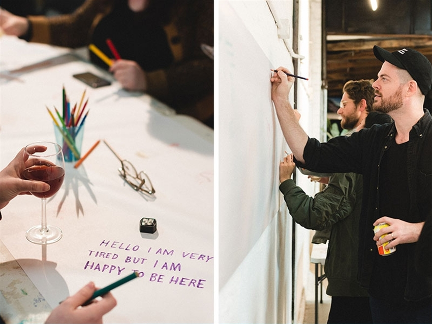 sip & scribble with artist adam j. kurtz