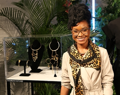 say hello to… black panther's specialist jeweller, douriean fletcher