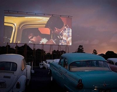 frankie flicks: outdoor cinema run down