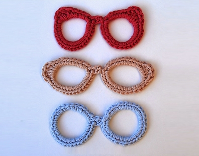 diy crochet glasses