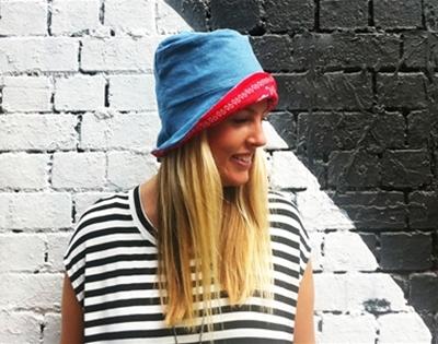 frankie exclusive diy: simple sun hat