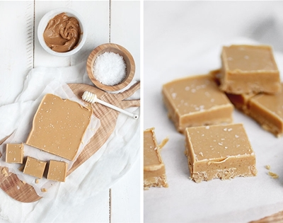 natural peanut butter fudge