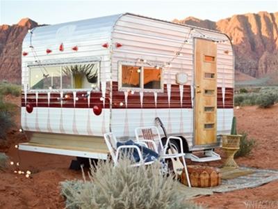 how to revamp a vintage camper